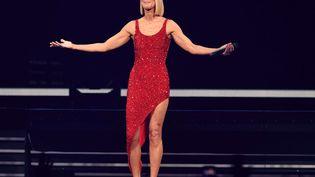 Céline Dion en concert à Miami, le 17 janvier 2020. (LARRY MARANO/REX/SIPA / SHUTTERSTOCK)