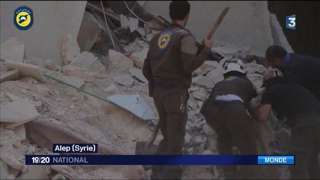 Syrie : Alep ravagée par les bombardements