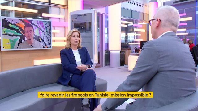 """Invitée de Jean-Paul Chapel dans """":L'éco"""" jeudi 23 mars, Salma Elloumi Rekik, ministre du tourisme en Tunisie, évoque les attentats de Londres avec émotion. Le terrorisme, toujours un fléau pour le tourisme en Tunisie ?"""