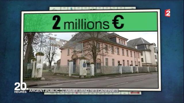 Argent public : l'armée française peine à vendre ses casernes