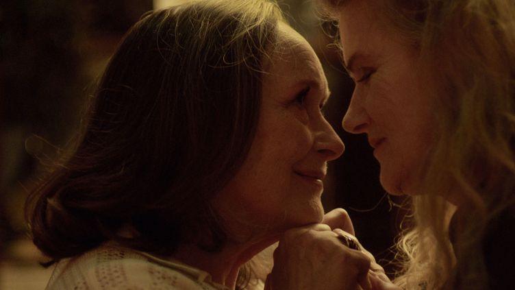 "Les actricesMartine Chevallier et Barbara Sukowa dans le film ""Deux"" de Filippo Meneghetti. (SOPHIE DULAC DISTRIBUTION)"