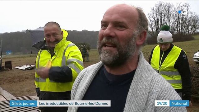 """""""Gilets jaunes"""" : les irréductibles de Baume-les-Dames"""