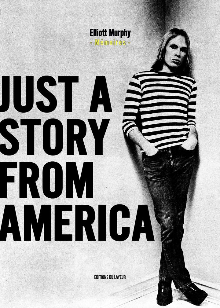 "La couverture du livre ""Just a story from America"" (Editions du Layeur)"
