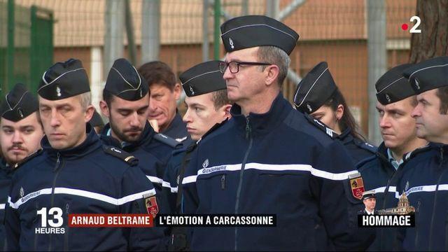 Hommage au colonel Beltrame : l'émotion à Carcassonne