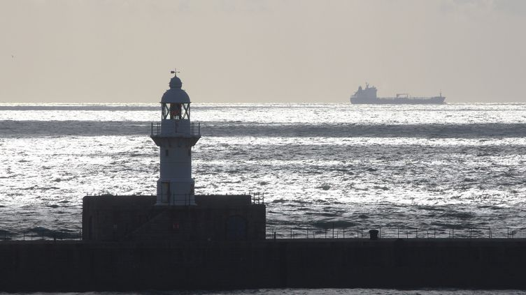 En 2018, plus de 500 migrants ont tenté la traversée entre Calais, en France, et Douvres (ci-contre), en Angleterre, sur des embarcations de fortune. (PHILIPPE TURPIN / MAXPPP)