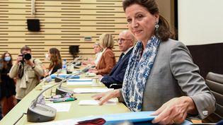 L'ancienne ministre de la Santé Agnès Buzyn avant son audition devant la commission d'enquête mardi 30 juin 2020 à Paris. (BERTRAND GUAY / AFP)