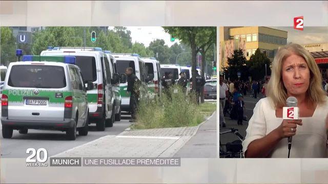 """Fusillade à Munich : le tireur """"préparait son acte depuis près d'un an"""""""