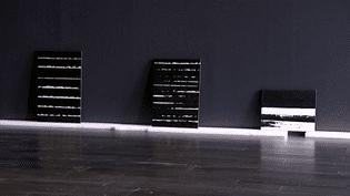 Toiles de Pierre Soulages en pré-accrochage  (France3/culturebox)