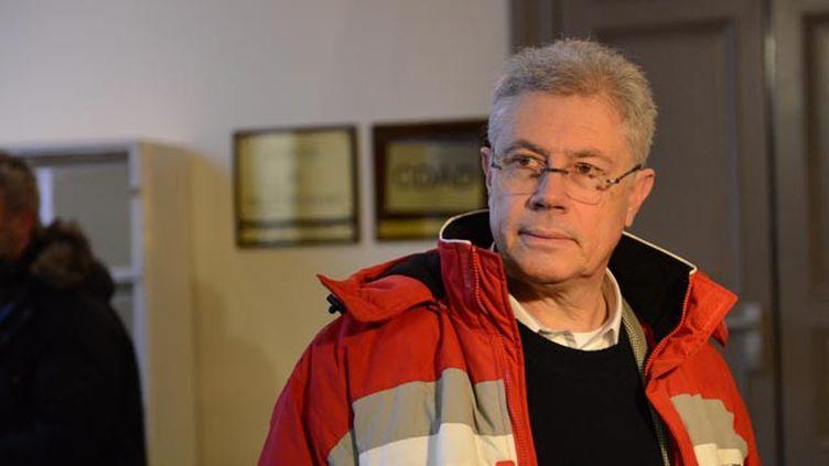 (Luc Fournié comparait depuis lundi à Albi pour avoir tué un jeune cambrioleur en 2009 © MaxPPP)