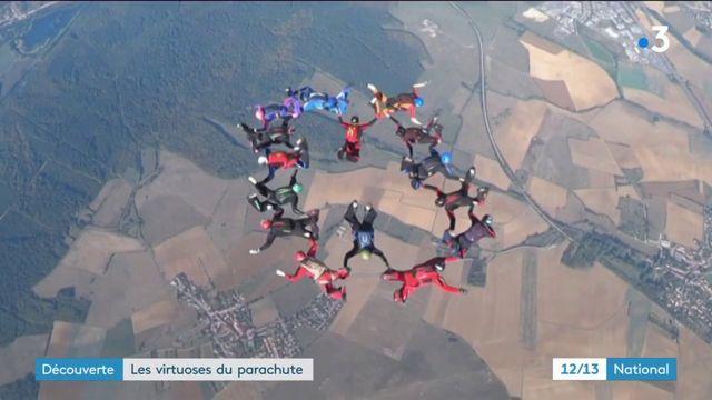 Découverte : les virtuoses du parachute