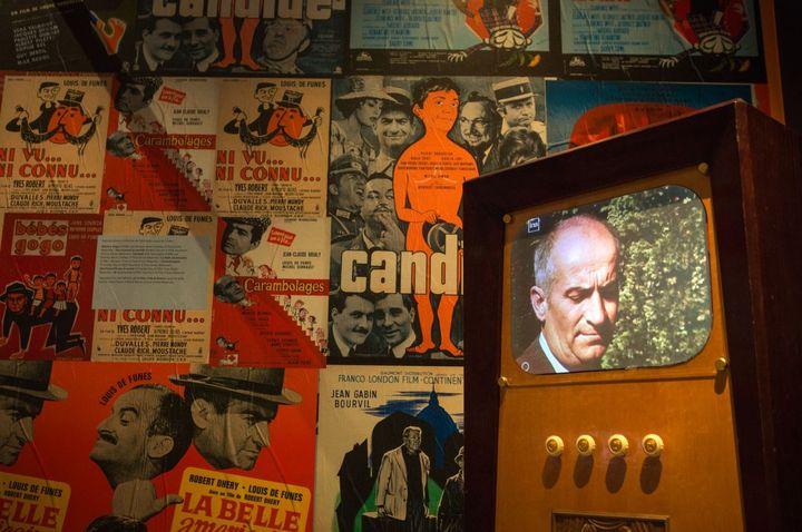 Le succès de Louis De Funès correspond à l'époque des trente glorieuses, celle de De Gaulle, Pompidou et Giscard surtout. (Cinémathèque)
