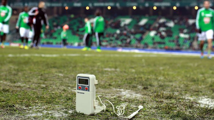 Le stade Geoffroy-Guichard. (PHILIPPE MERLE / AFP)