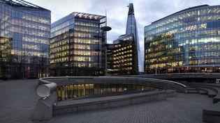 Le quartier de la City à Londres, le 6 octobre 2020. (MANUEL COHEN / AFP)