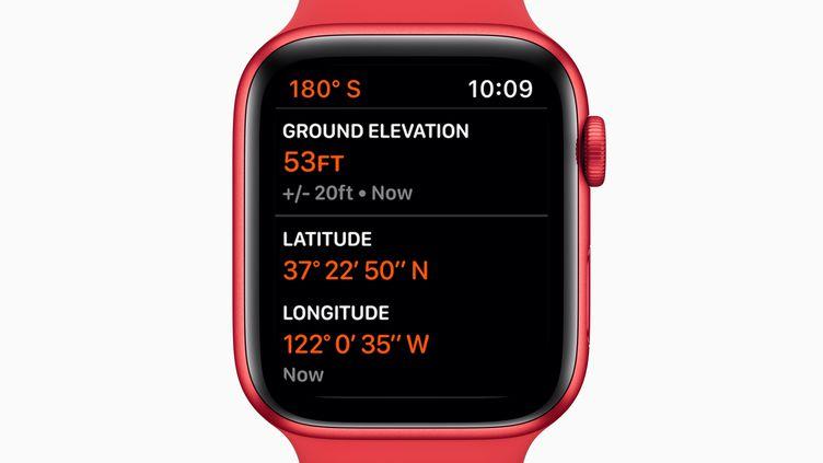 Une apple Watch (illustration 15 septembre 2020). (APPLE / HANDOUT HANDOUT / MAXPPP)