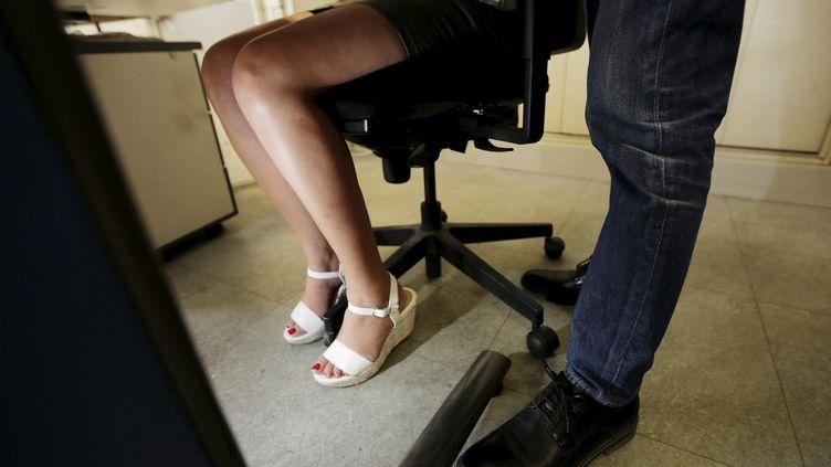 Harcèlement au travail, image d'illustration. (MAXPPP)