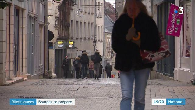 """""""Gilets jaunes"""" : Bourges se prépare à l'acte 9"""