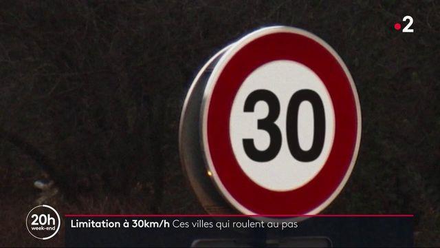 Paris : une limitation de vitesse à 30km/h dès la rentrée