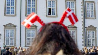 Le palais de Fredensborg lors des 75 ans de la reine Margrethe II. Danemark, le 16 avril 2015. (PATRICK VAN KATWIJK / DPA)