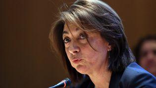 Martine Vassal, présidente Les Républicains du conseil départemental des Bouches-du-Rhône. (BORIS HORVAT / AFP)