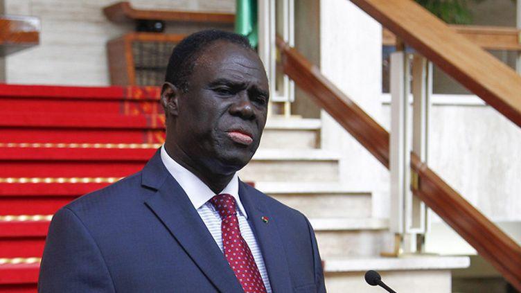 (Le président Kafando se trouve à la résidence de l'ambassadeur de France à Ouagadougou © MaxPPP)