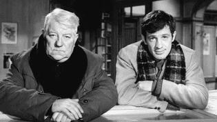 """Jean Gabin et Jean-Paul Belmondo dans """"Un singe en hiver"""" d'Henri Verneuil  (DR)"""