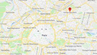 Aulnay-sous-Bois(Seine-Saint-Denis). (GOOGLE MAPS)