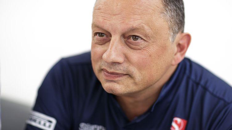 Frédéric Vasseur, patron de l'écurie Sauber.  (FREDERIC LE FLOC H / DPPI MEDIA)