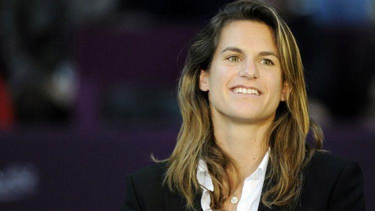 Amélie Mauresmo nouvelle capitaine de Fed Cup (BERTRAND GUAY / AFP)