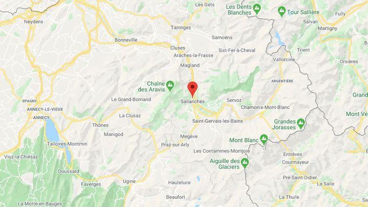Sallanches (Haute-Savoie). (GOOGLE MAPS)