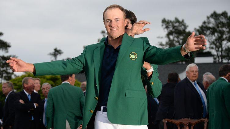 Le golfeur américain Jordan Spieth, vainqueur du Masters d'Augusta (JIM WATSON / AFP)