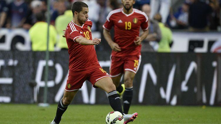Eden Hazard sous le maillot belge (DIRK WAEM / BELGA MAG)