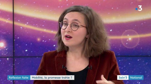 L'invitée du Soir 3 : Anne-Sophie Moreau revient sur la question de la  mobilité