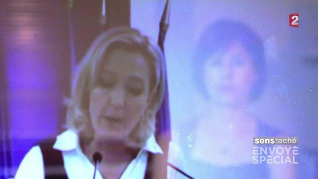 VIDEO. Envoyé spécial. Marine Le Pen : la bataille des mots