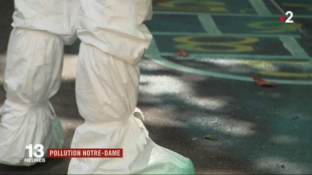 Pollution de Notre-Dame : les écoles touchées nettoyées