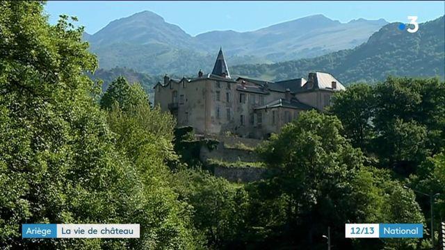 Ariège : l'impressionnante rénovation d'un château par une famille australienne