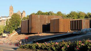 Le musée Soulages à Rodez ouvrira ses portes au printemps 2014  (Yves Estivals / PhotoPQR / Le Midi Libre / MAXPPP)
