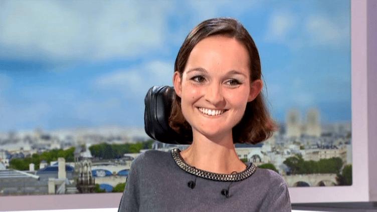Charlotte de Vilmorin, invitée du journal de 13 heures  (France 3 / Culturebox)
