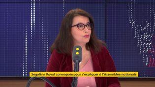 Cécile Duflot, sur franceinfo, jeudi 26 décembre. (FRANCEINFO / RADIOFRANCE)