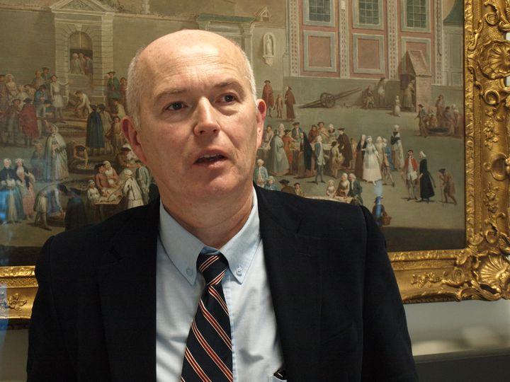 """Bernard-Marie Dupont, généticien et fondateur de la société Medethic, est l'auteur d'un essai anti-euthanasie, """"D'un prétendu droit de mourir par humanité"""", en 2011. (ARIANE NICOLAS / FRANCETV INFO)"""