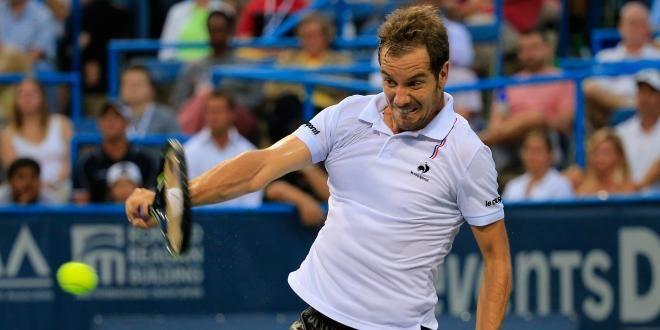 Richard Gasquet arrive en confiance à l'US Open