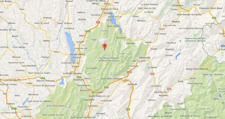 ( GOOGLE MAPS / FRANCETV INFO )