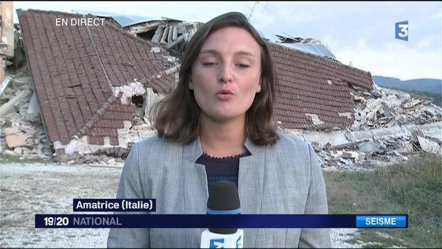 """Séisme en Italie : """"Les chances de retrouver les survivants plus en plus minces"""""""
