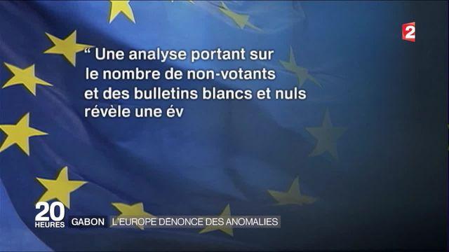 Gabon : l'Europe dénonce des anomalies
