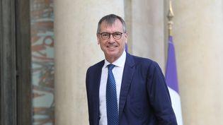 Jean-Paul Ortiz à l'Élysée en septembre 2018. (LUDOVIC MARIN / AFP)