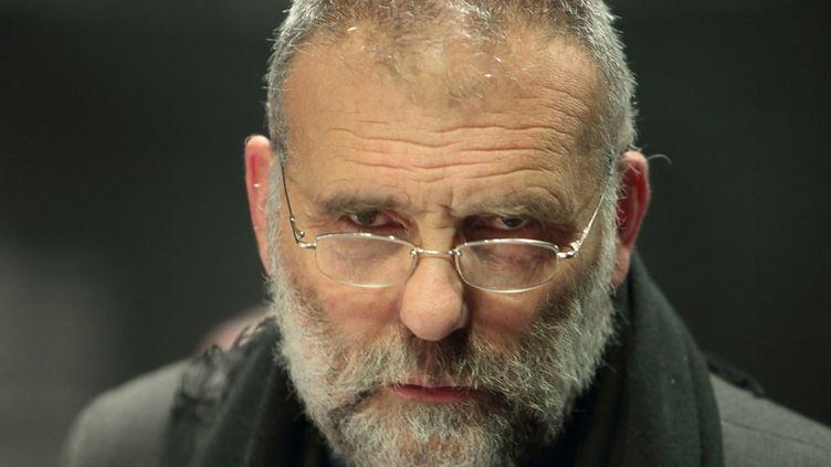 Le père Paolo Dall'Oglio à Paris, le 29 septembre 2012. (Caroline Poiron)