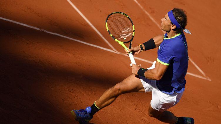 L'Espagnol Rafael Nadal. (PHILIPPE MILLEREAU / DPPI MEDIA)