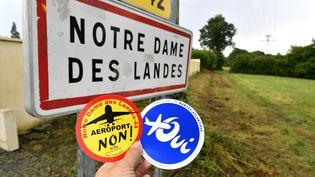 Les électeurs de Loire-Atlantiquesontappelés aux urnes, le 26 juin 2016,pour se prononcer sur le très contesté projet d'aéroport de Notre-Dame-des-Landes (MAXPPP)