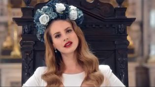 "Lana Del Rey dans le clip ""Born To Die"".  (Interscope)"