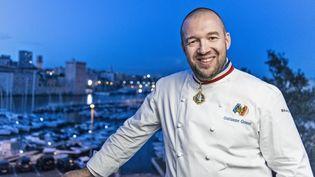 Le cuisinier Guillaume Gomez, le 16 juin 2018 à Marseille (Bouches-du-Rhône). (PATRICK FOUQUE / AFP)