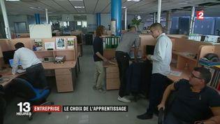 Entreprise : le choix de l'apprentissage (France 2)